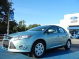 2012 Frosted Glass Metallic Ford Focus SE Sedan #55487801