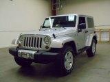 2012 Bright Silver Metallic Jeep Wrangler Sahara 4x4 #55488394