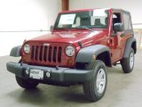 2012 Deep Cherry Red Crystal Pearl Jeep Wrangler Sport 4x4 #55488393