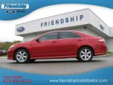 2008 Barcelona Red Metallic Toyota Camry SE #55487774