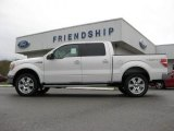 2011 White Platinum Metallic Tri-Coat Ford F150 XLT SuperCrew 4x4 #55487773