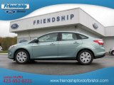 2012 Frosted Glass Metallic Ford Focus SE Sedan #55487770
