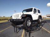 2012 Bright White Jeep Wrangler Rubicon 4X4 #55488083