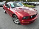 Redfire Metallic Ford Mustang in 2006