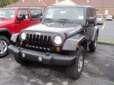 2012 Black Jeep Wrangler Rubicon 4X4 #55488251