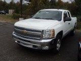 2012 Summit White Chevrolet Silverado 1500 LT Extended Cab 4x4 #55488244
