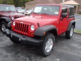 2012 Flame Red Jeep Wrangler Sport S 4x4 #55488238
