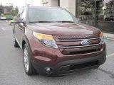 2012 Ford Explorer Cinnamon Metallic