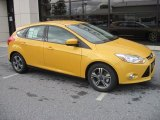 2012 Yellow Blaze Tricoat Metallic Ford Focus SE Sport 5-Door #55488200
