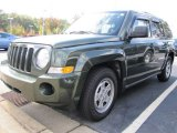 2007 Jeep Green Metallic Jeep Patriot Sport 4x4 #55487906