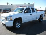 2011 Summit White Chevrolet Silverado 1500 LS Extended Cab #55537364