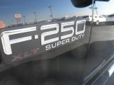 2003 Ford F250 Super Duty XLT Crew Cab 4x4 Marks and Logos