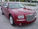 2008 Inferno Red Crystal Pearl Chrysler 300 C HEMI #542431