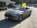 2011 Sterling Gray Metallic Ford Mustang V6 Premium Convertible #55537334