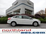 2012 Oxford White Ford Focus SE Sedan #55537006
