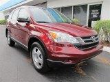 2011 Tango Red Pearl Honda CR-V LX #55536948