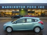 2012 Frosted Glass Metallic Ford Focus SE 5-Door #55537267