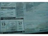 2012 Toyota Tundra Limited CrewMax 4x4 Window Sticker