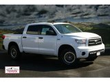 2012 Super White Toyota Tundra TRD Rock Warrior CrewMax 4x4 #55536881