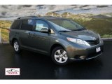 2012 Cypress Green Pearl Toyota Sienna LE #55536875