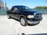 2003 Black Dodge Ram 1500 SLT Quad Cab #55537205