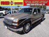 2006 Sandstone Metallic Chevrolet Silverado 1500 LT Crew Cab #55537491
