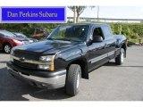 2004 Black Chevrolet Silverado 1500 Z71 Extended Cab 4x4 #55536824