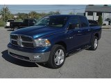 2009 Deep Water Blue Pearl Dodge Ram 1500 Big Horn Edition Crew Cab 4x4 #55537468