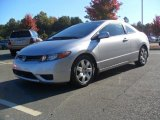 2007 Alabaster Silver Metallic Honda Civic LX Coupe #55537434