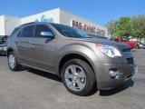 2010 Mocha Steel Metallic Chevrolet Equinox LTZ #55537406