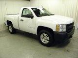 2008 Summit White Chevrolet Silverado 1500 Work Truck Regular Cab #55537394