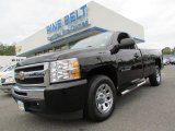 2011 Black Chevrolet Silverado 1500 LS Regular Cab #55537110