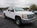 2012 Summit White Chevrolet Silverado 1500 Work Truck Extended Cab 4x4 #55593223