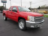 2012 Victory Red Chevrolet Silverado 1500 LT Extended Cab 4x4 #55593222