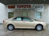 2012 Sandy Beach Metallic Toyota Camry LE #55592943