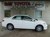 2011 Super White Toyota Corolla LE #55592938