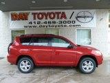 2011 Barcelona Red Metallic Toyota RAV4 I4 4WD #55592937