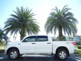 2010 Super White Toyota Tundra TRD CrewMax 4x4 #55592934