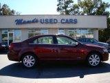 2007 Vivid Red Metallic Lincoln MKZ AWD Sedan #55593025