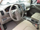 2012 Nissan Frontier SV Crew Cab 4x4 Beige Interior