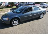 2002 Steel Blue Pearl Chrysler Sebring LXi Sedan #55593011