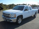 2012 Summit White Chevrolet Silverado 1500 LT Extended Cab #55593120
