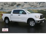 2012 Super White Toyota Tundra CrewMax 4x4 #55592851