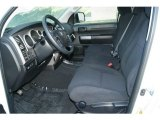 2012 Toyota Tundra CrewMax 4x4 Black Interior
