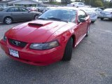 2003 Torch Red Ford Mustang V6 Coupe #55593107