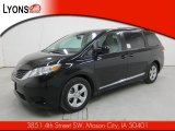 2011 Black Toyota Sienna LE #55592536