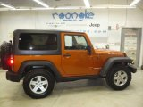2011 Mango Tango Pearl Jeep Wrangler Rubicon 4x4 #55592968