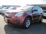 2010 Cardinal Red Metallic Chevrolet Equinox LS AWD #55618534