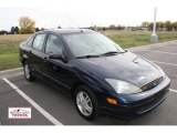 2003 Twilight Blue Metallic Ford Focus SE Sedan #55618496