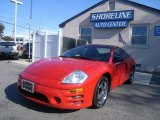 2003 Saronno Red Mitsubishi Eclipse GS Coupe #55622204